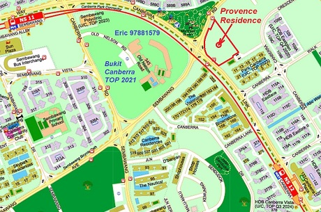 Provence Residence Location Map