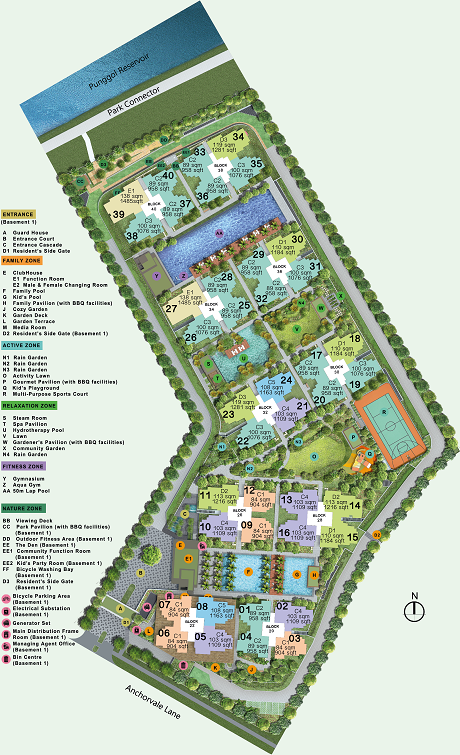 Rivercove Residences EC Site Plan